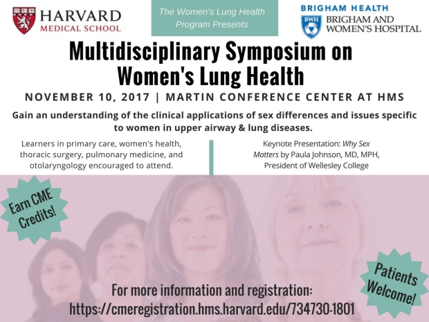 Multidisciplinary Symposium on Women's Lung Health